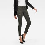 G-Star RAW® Blossite Army High Skinny Trousers Grey model front