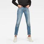 G-Star RAW® 3301 Deconstructed Mid Waist Straight Jeans Medium blue