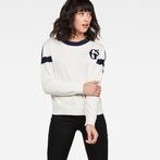 G-Star RAW® Spoort Knit White model front