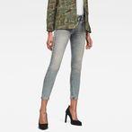 G-Star RAW® Lynn Mid Waist Skinny Ankle Jeans Medium blue