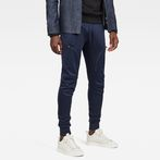 G-Star RAW® Air Defence Zip 3D Slim Sweatpants Dark blue model front