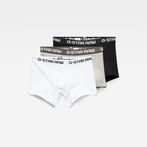 G-Star RAW® Classic Trunks 3-Pack White front bust