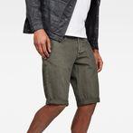 G-Star RAW® 3301 1/2 Shorts Grey front flat
