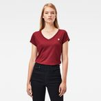 G-Star RAW® Eyben Slim T-Shirt Red model front