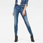G-Star RAW® G-Star Shape High Waist Super Skinny Jeans Medium blue