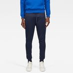 G-Star RAW® Alchesai Slim Tapered Sweatpants Dark blue model front