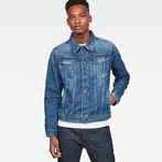 G-Star RAW® 3301 Slim Jacket Medium blue model front