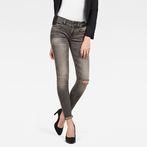 G-Star RAW® Lynn Mid Waist Skinny Jeans