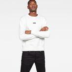 G-Star RAW® Loaq Core Sweat White model front