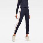G-Star RAW® D-Staq Stripe Sweatpants Dark blue model front