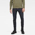 G-Star RAW® 5620 G-Star Elwood 3D Zip Knee Skinny Jeans Dark blue