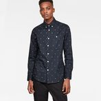 G-Star RAW® Core Button down 1 Pocket Slim Shirt Dark blue