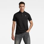 G-Star RAW® Dunda Slim Polo Black model front