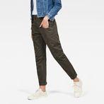 G-Star RAW® Army Radar Mid Waist Boyfriend Trousers Grey model front