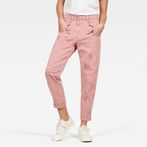 G-Star RAW® Army Radar Mid Waist Boyfriend Trousers Pink model front