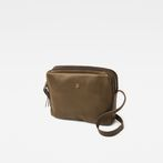 G-Star RAW® Mozoe Shoulderbag Leather Green front flat