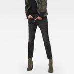 G-Star RAW® Arc 3D Slim Sport Low Boyfriend Jeans Dark blue model front