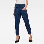 G-Star RAW® Army Radar Mid Waist Boyfriend Ankle Trousers Dark blue model front