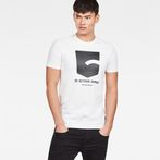 G-Star RAW® Graphic 47 T-Shirt White model front