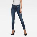 G-Star RAW® Lynn D-Mid Waist Super SkinnyJeans Dark blue