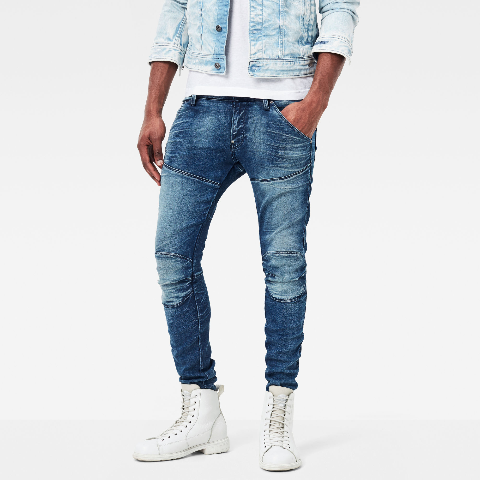 5620 G-Star Elwood 3D Super-Slim Jeans