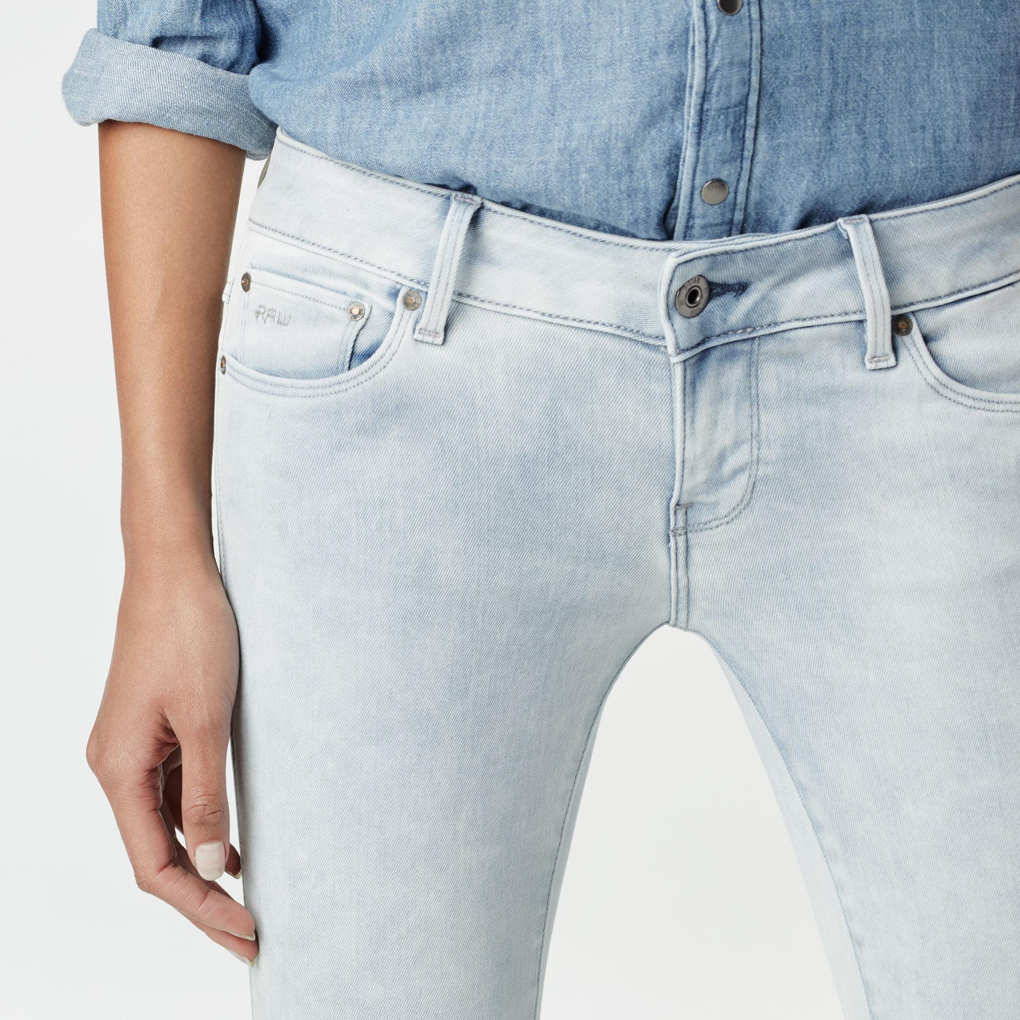 3301 Low Waist Super Skinny Jeans