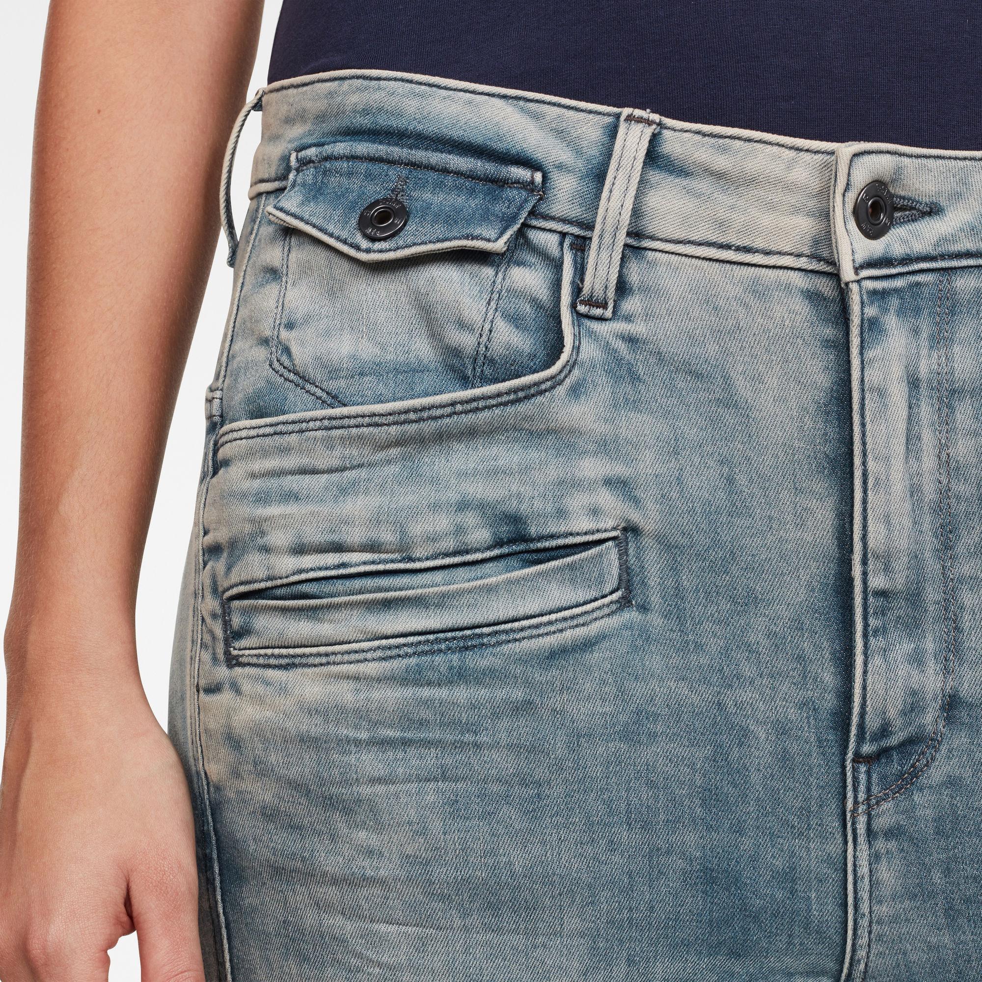 Dadin 3D Low Boyfriend Jeans