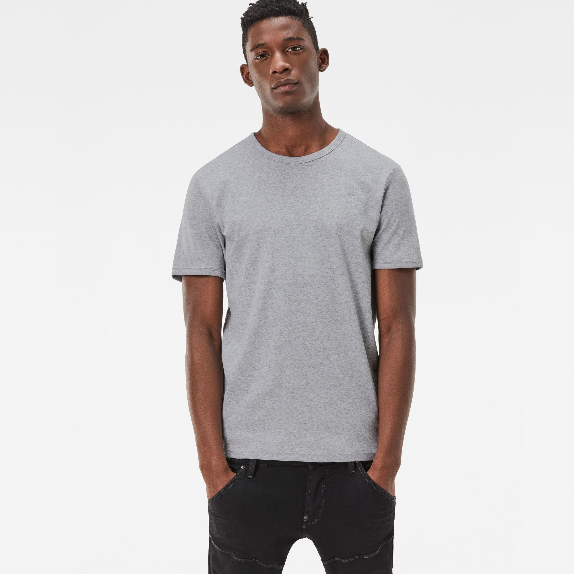 Basic Round Neck T-Shirt 2-Pack