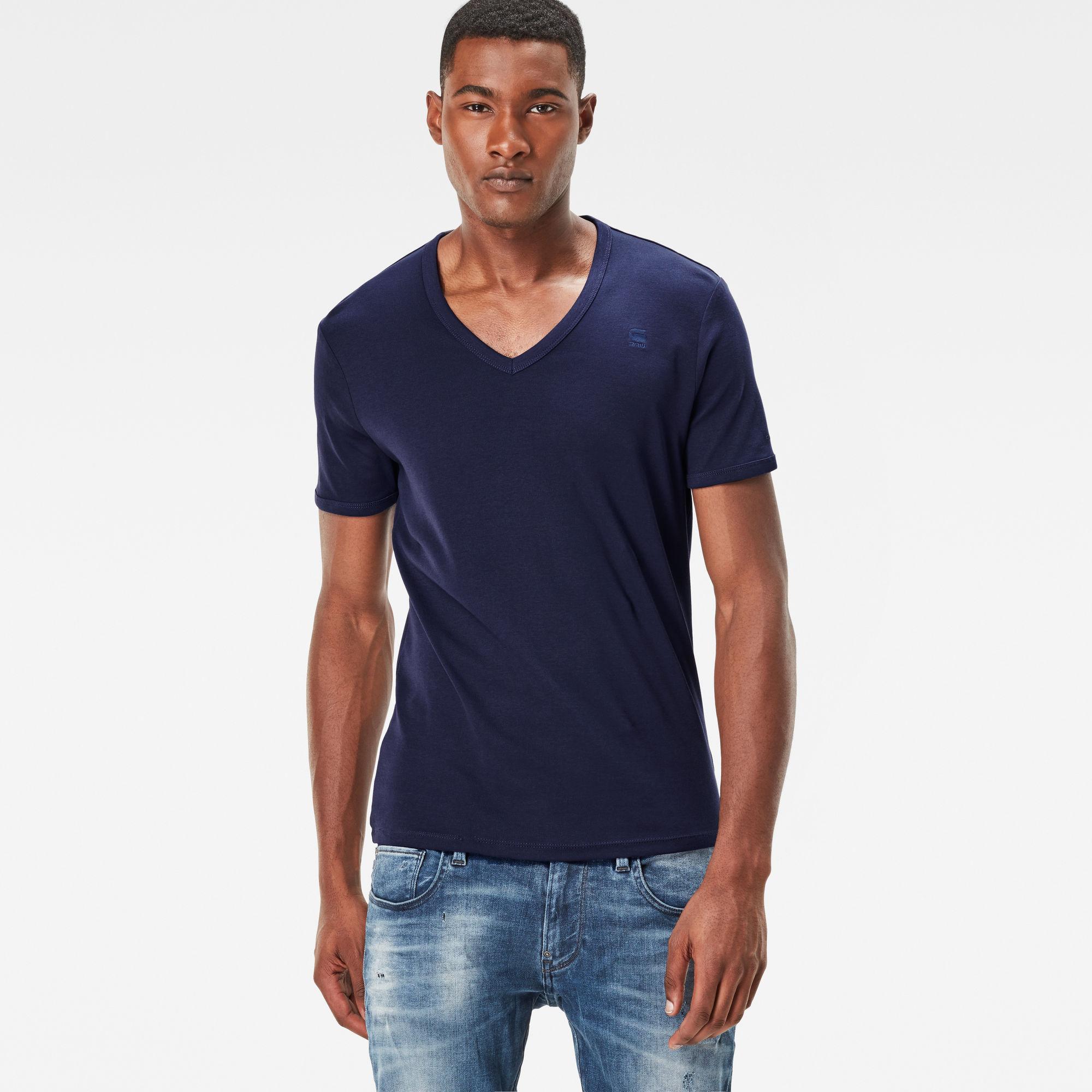 Base V-Neck Slim T-Shirt 2-pack