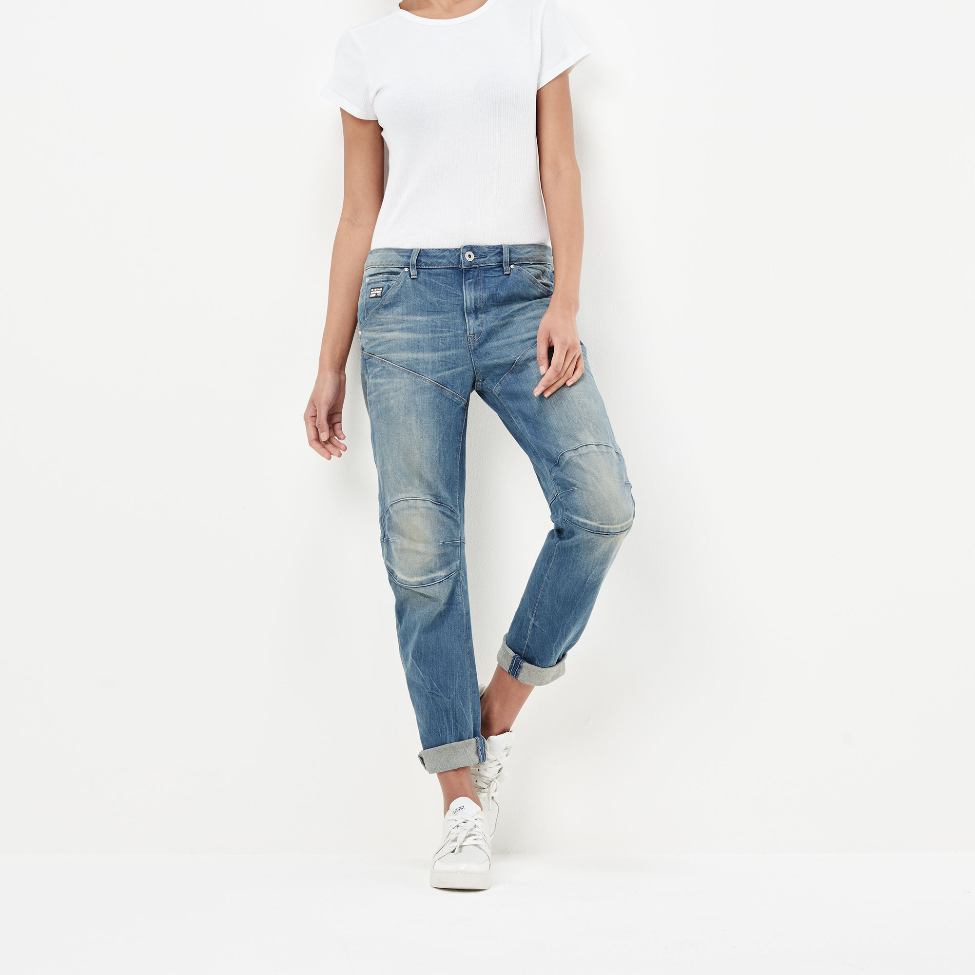 Image of G Star Raw 5620 G-Star Elwood 3D Low Waist Boyfriend Jeans