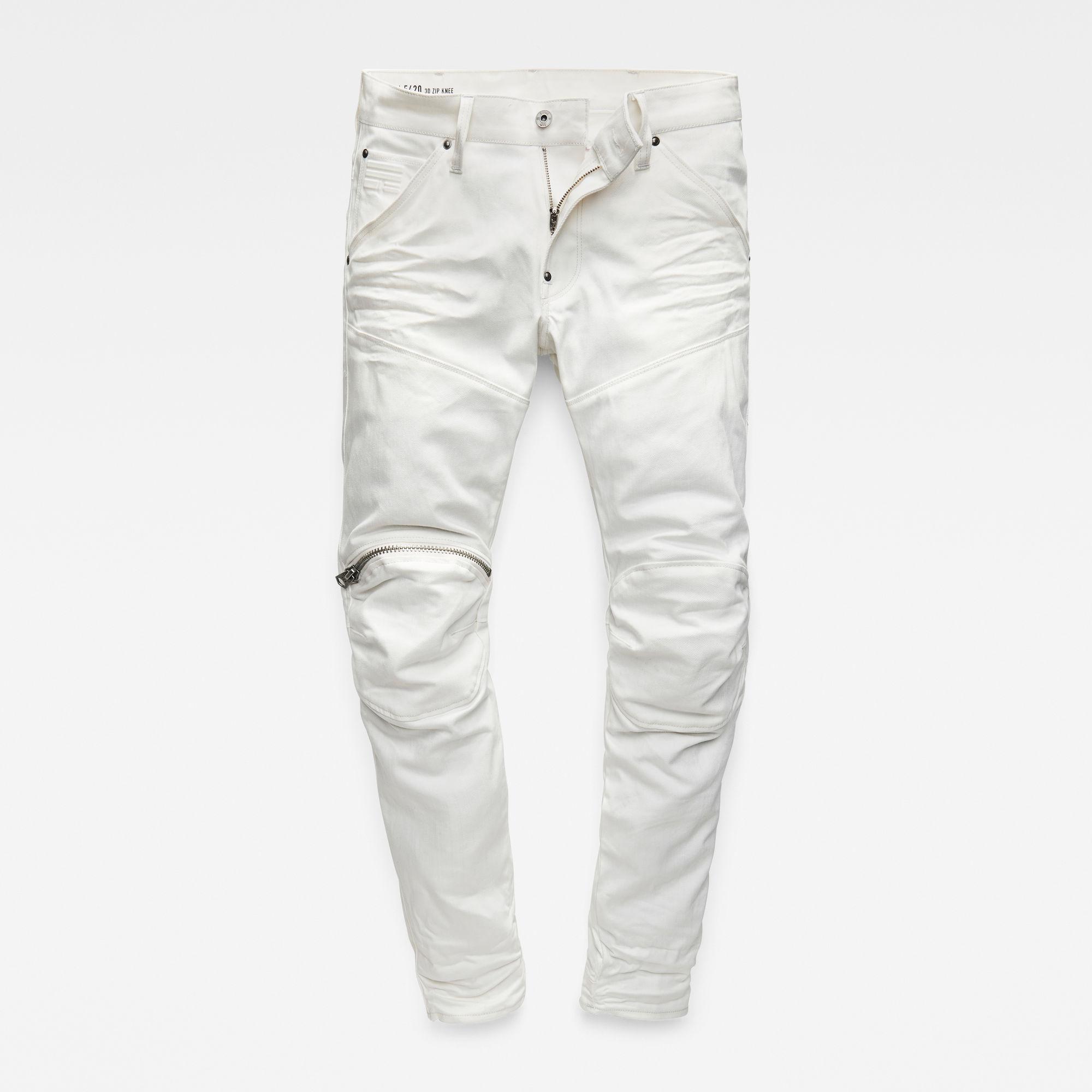 5620 G-Star Elwood 3D 3D Zip-Knee Super Slim Jeans