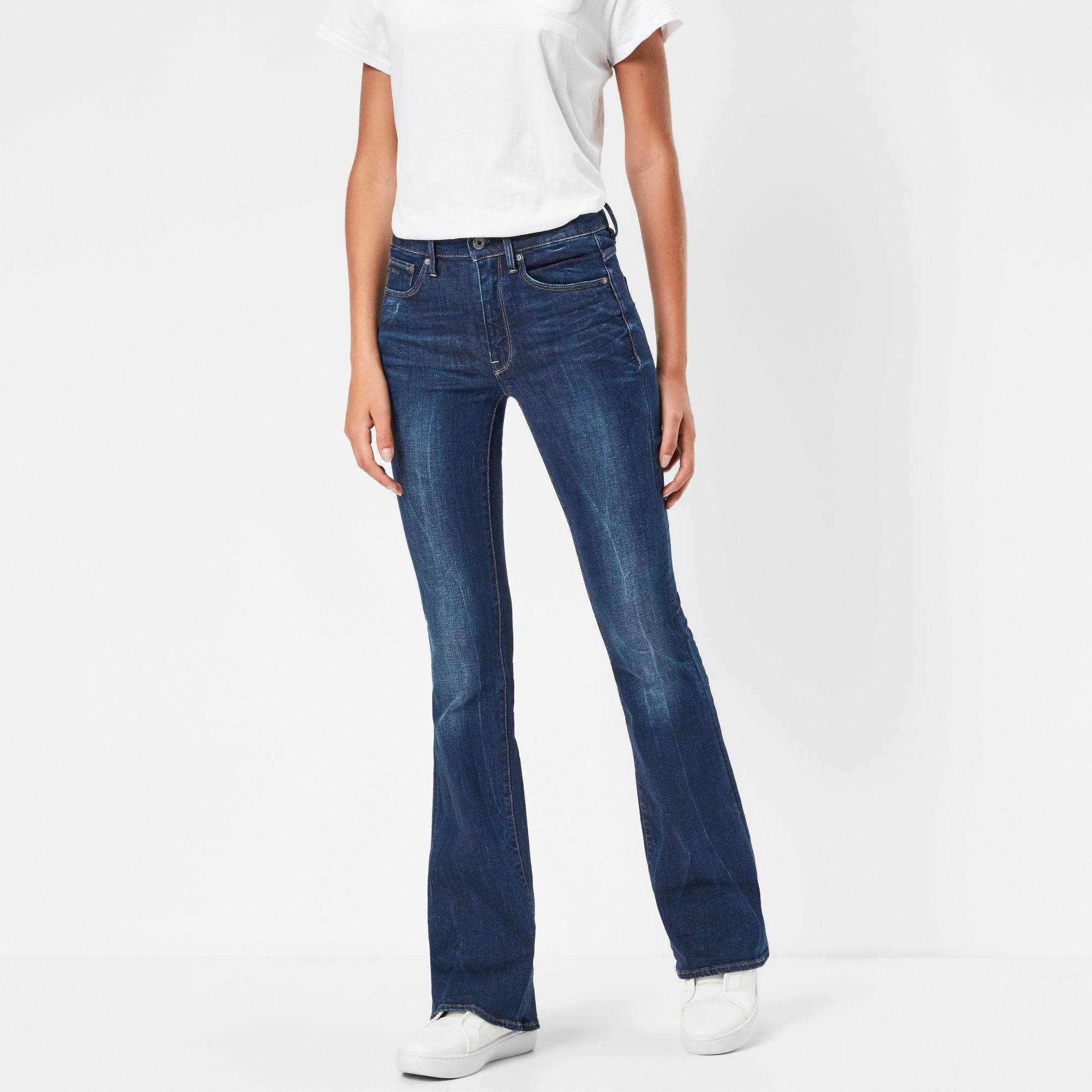 3301 High Waist Flare Jeans