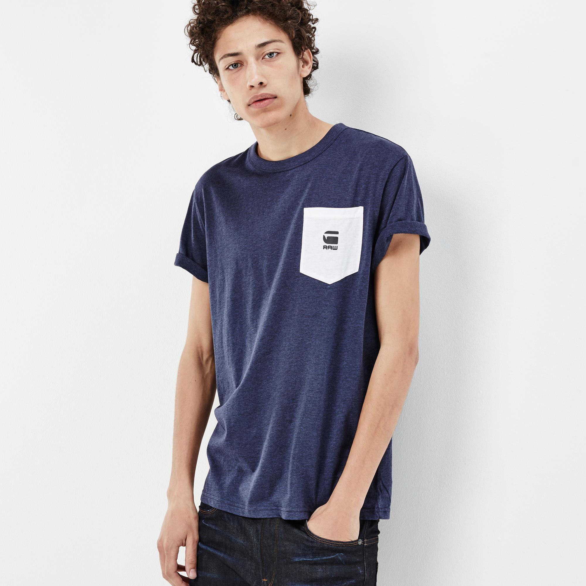 Yarek Contrast Pocket T-shirt