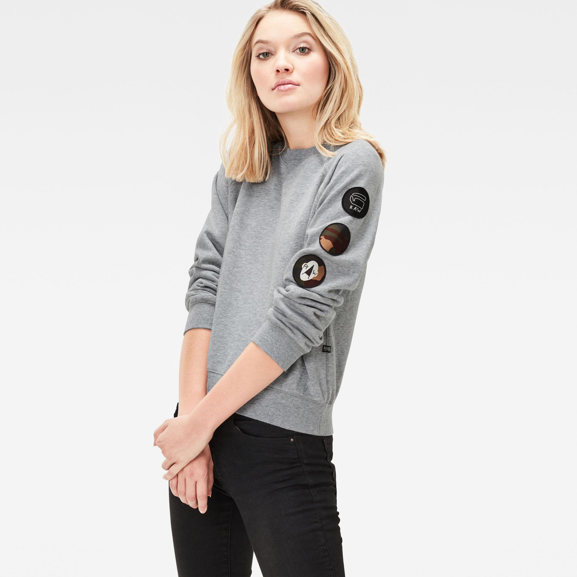 Xula Badge Straight Sweater
