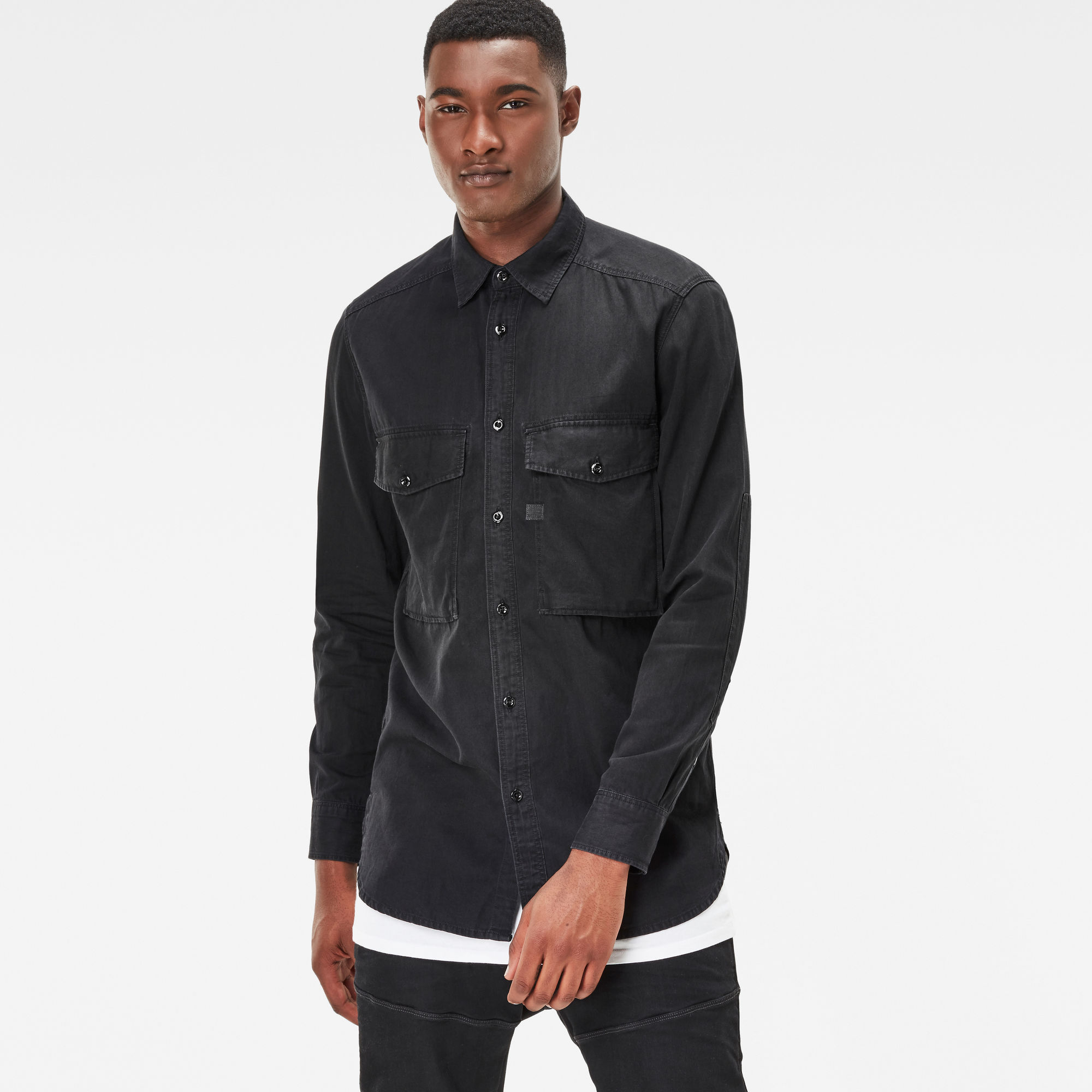 Type C Straight Long Shirt