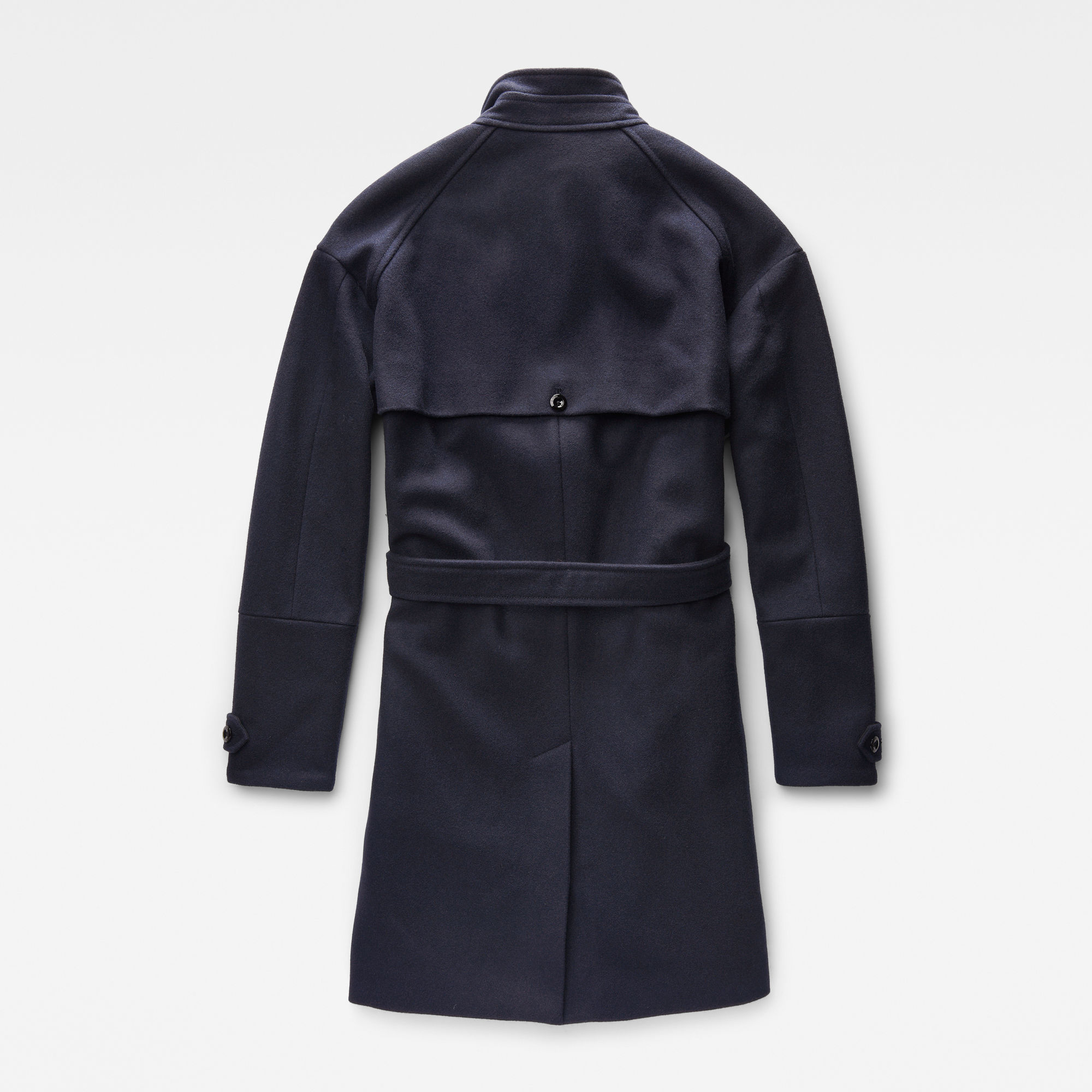 Minor Classic Wool Cropped Trench
