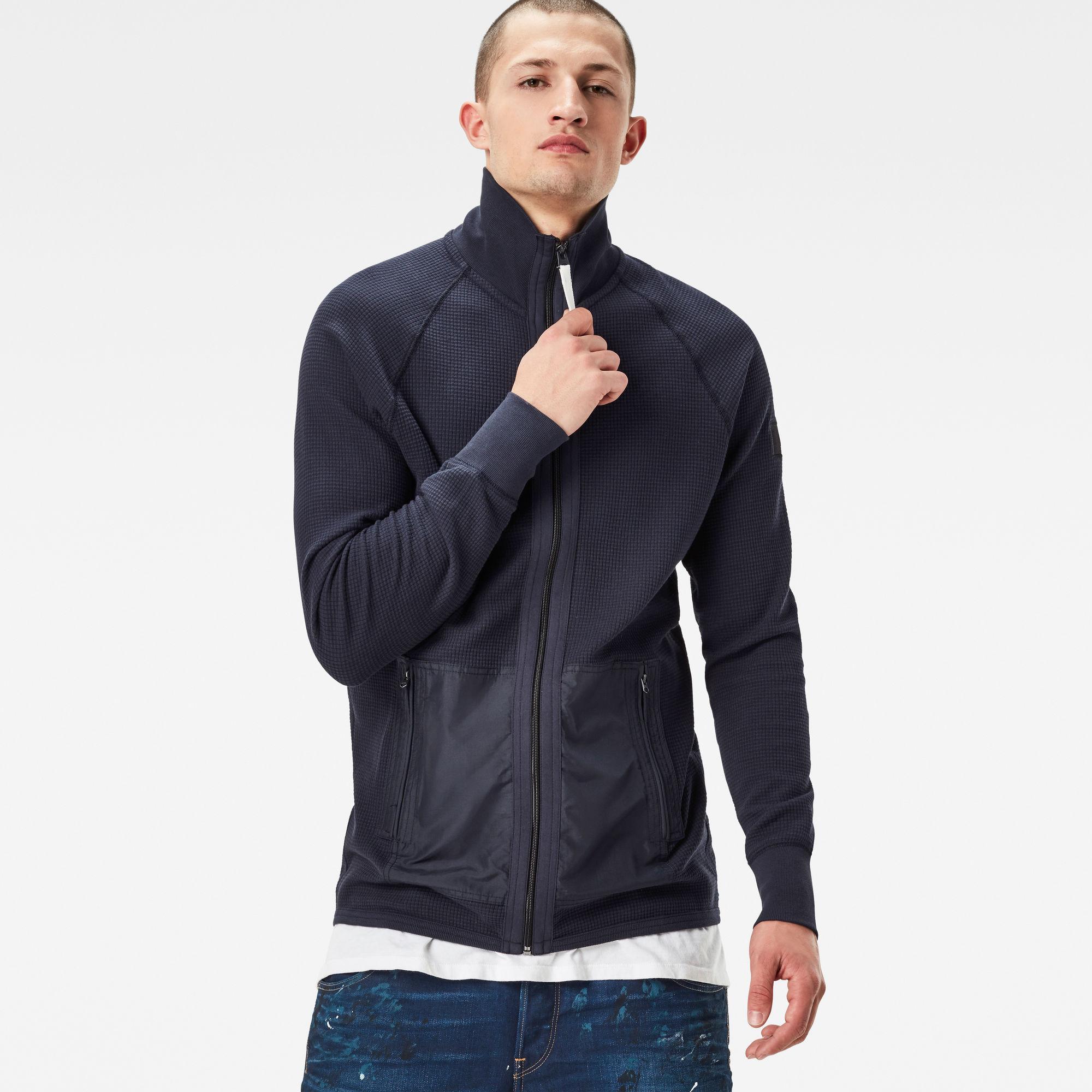 Powel Zip Regular Fit Sweater