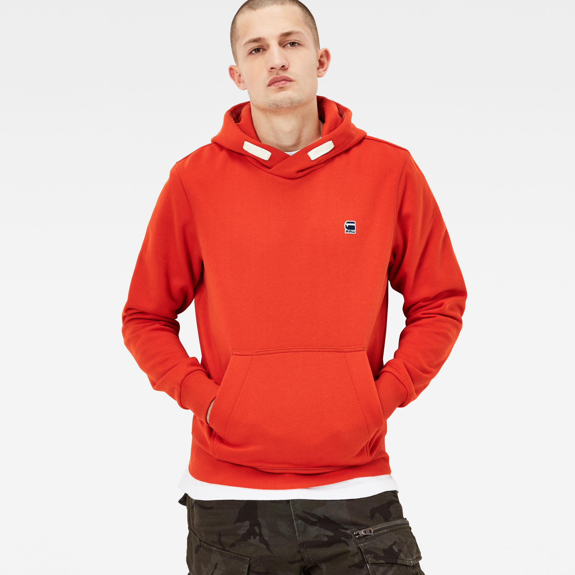 Chian Hooded Regular Fit Sweater