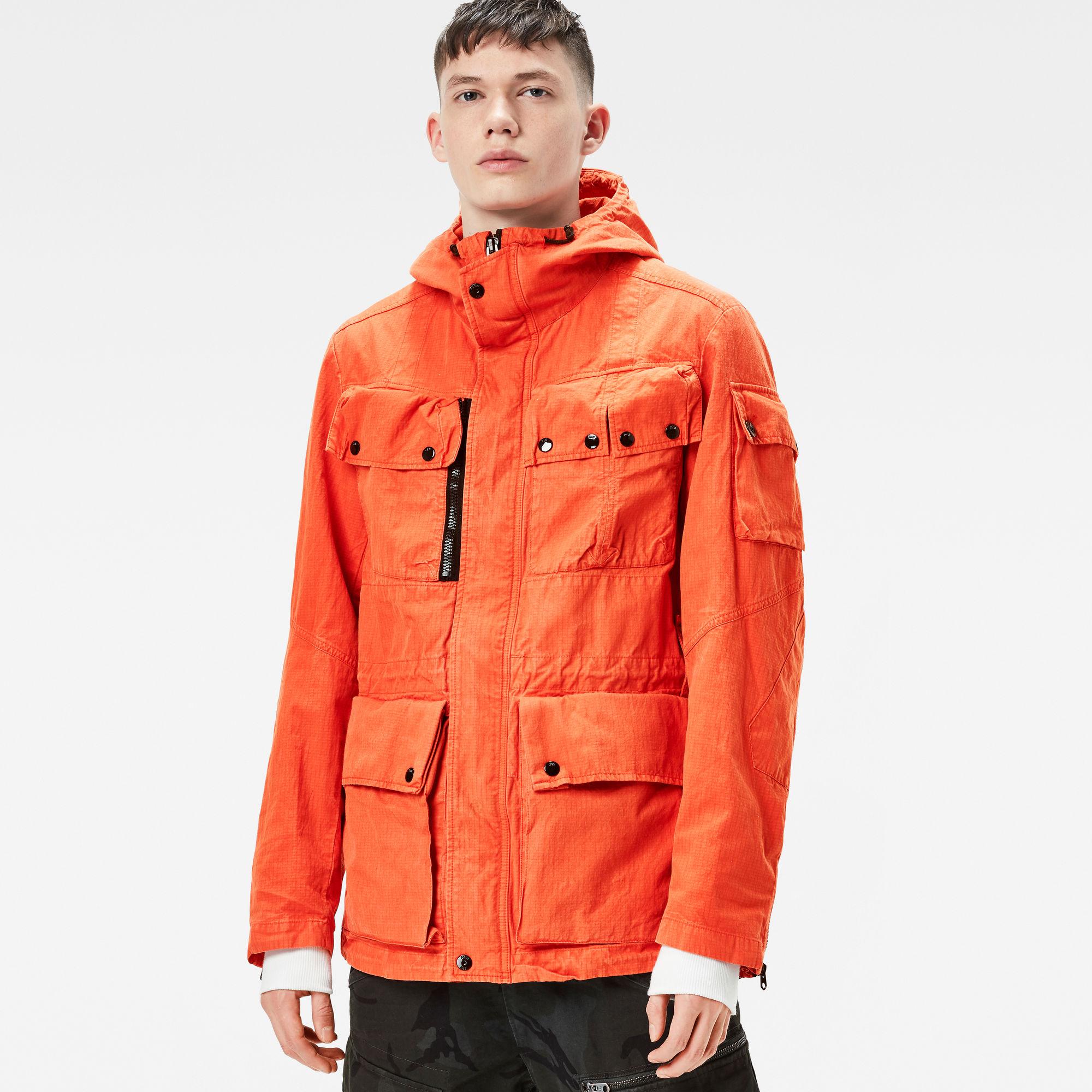 Ospak Hooded Field Jacket