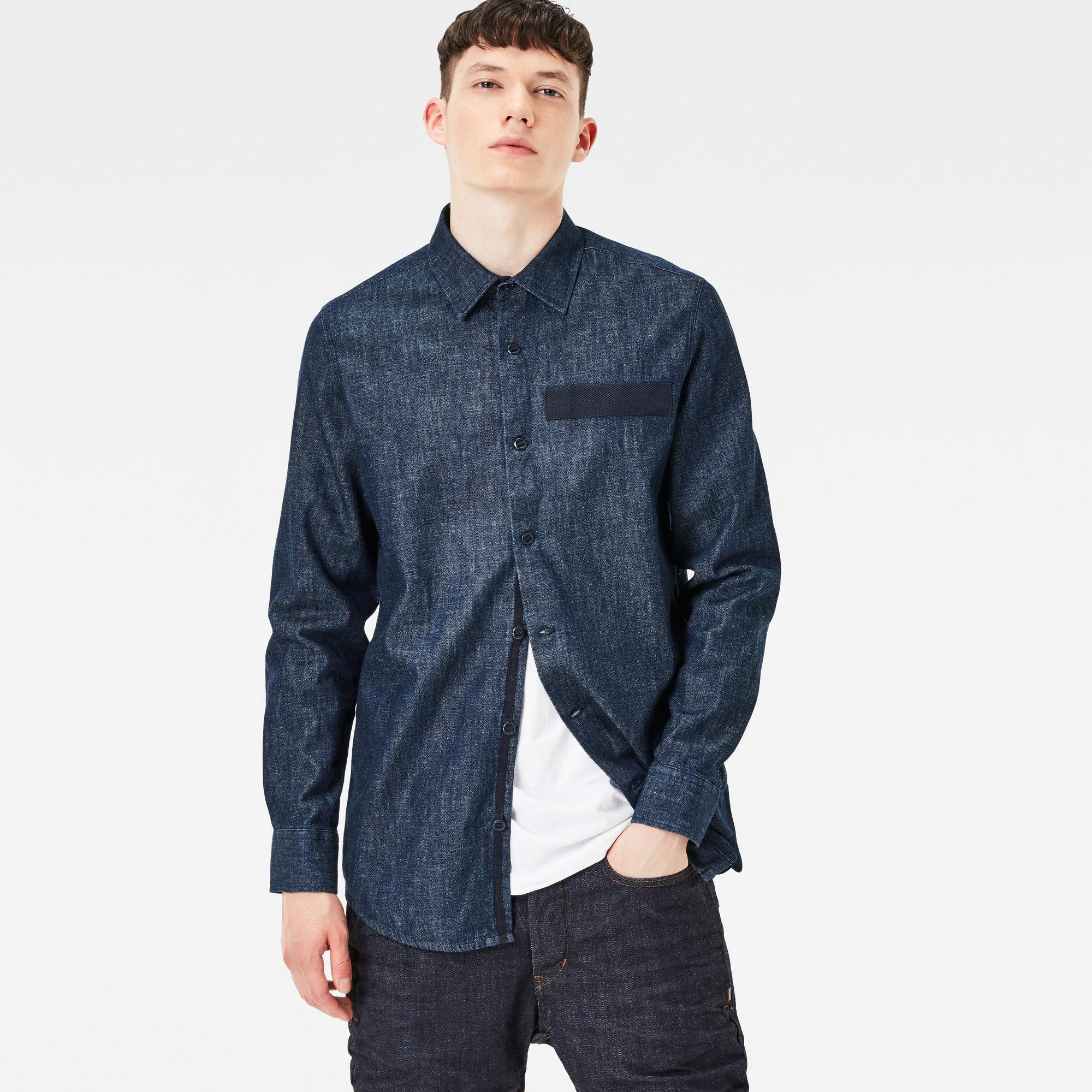 MT Denim Straight Shirt
