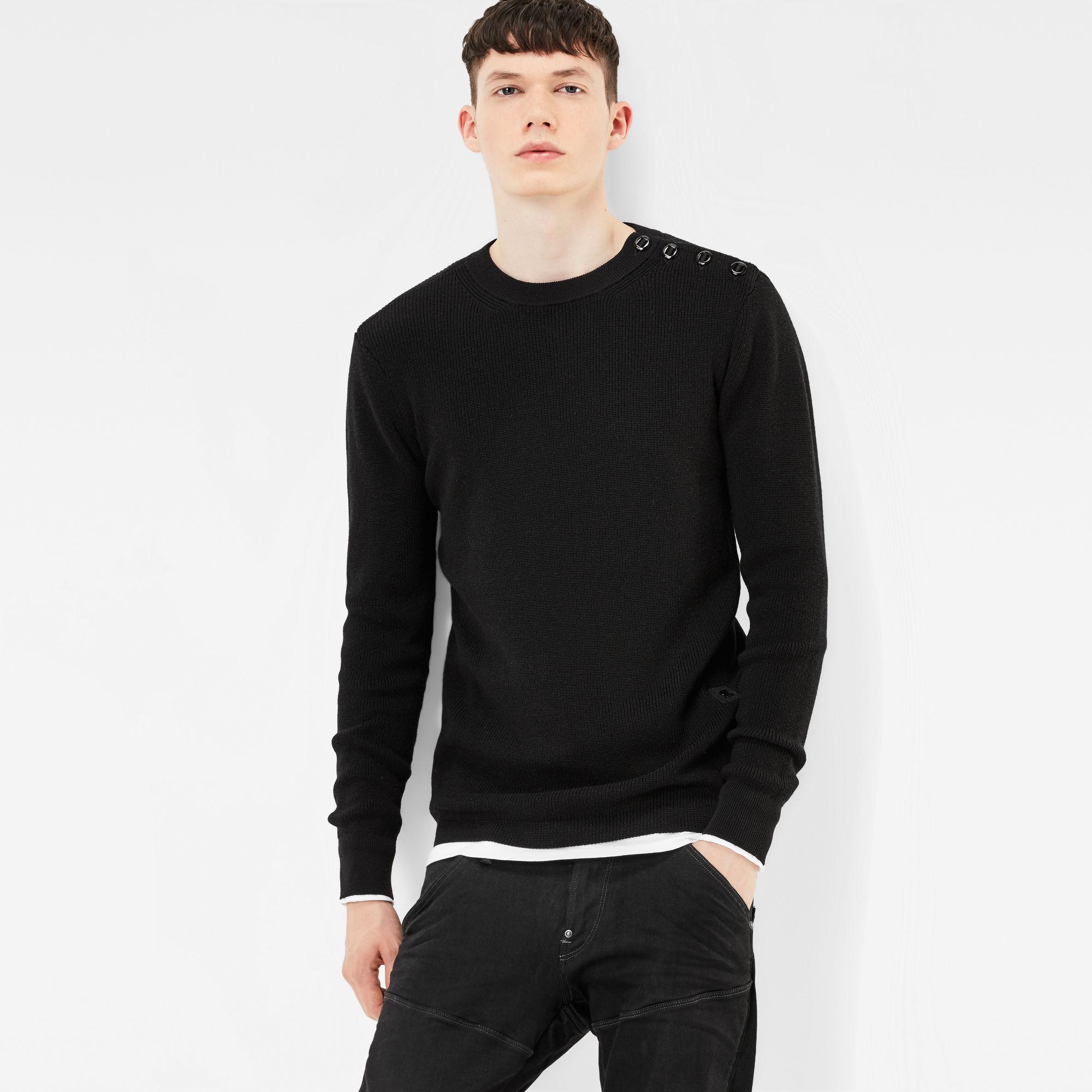 MT Dadin Knit Regular Fit Pullover