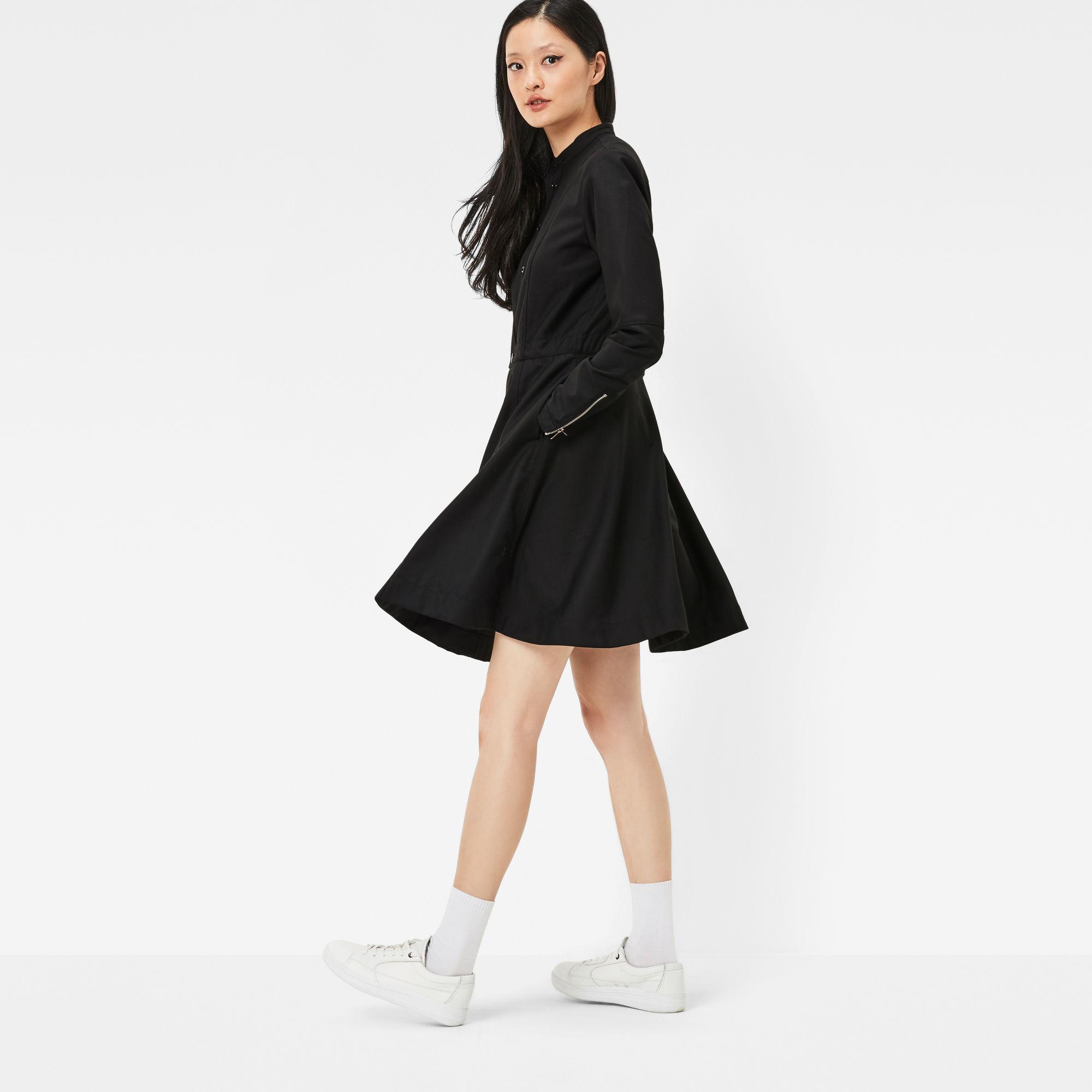 Core Slim Flare Dress