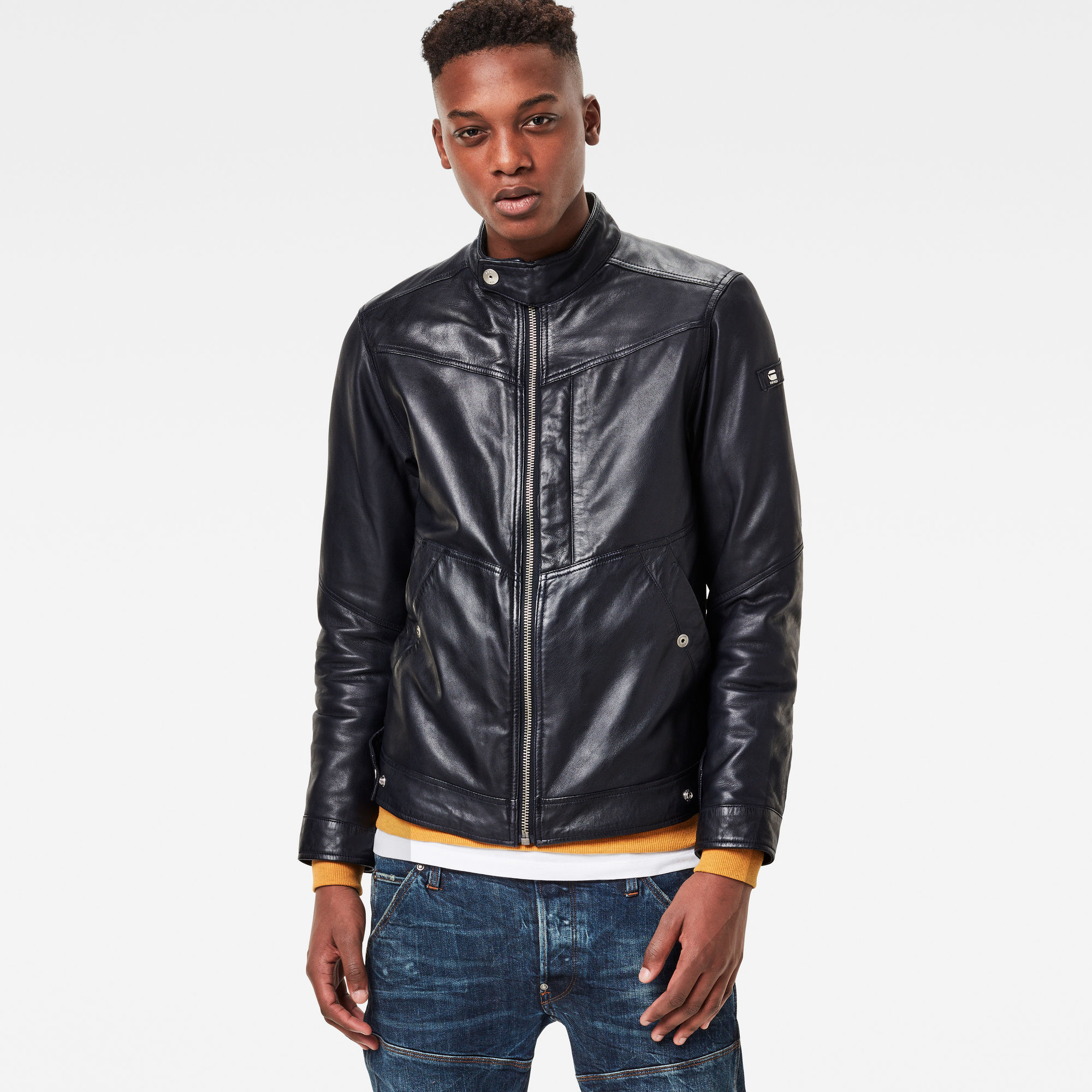 Deline Leather Jacket