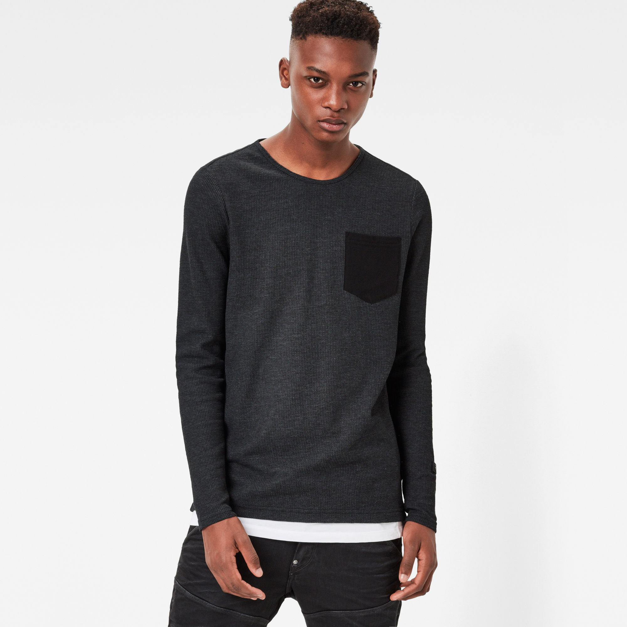 Lenzin Pocket Slim Sweater
