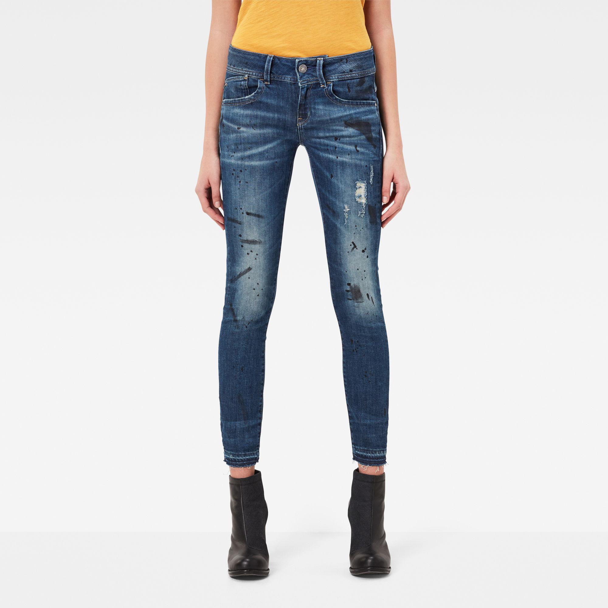 Lynn Mid Skinny RP Ankle Jeans