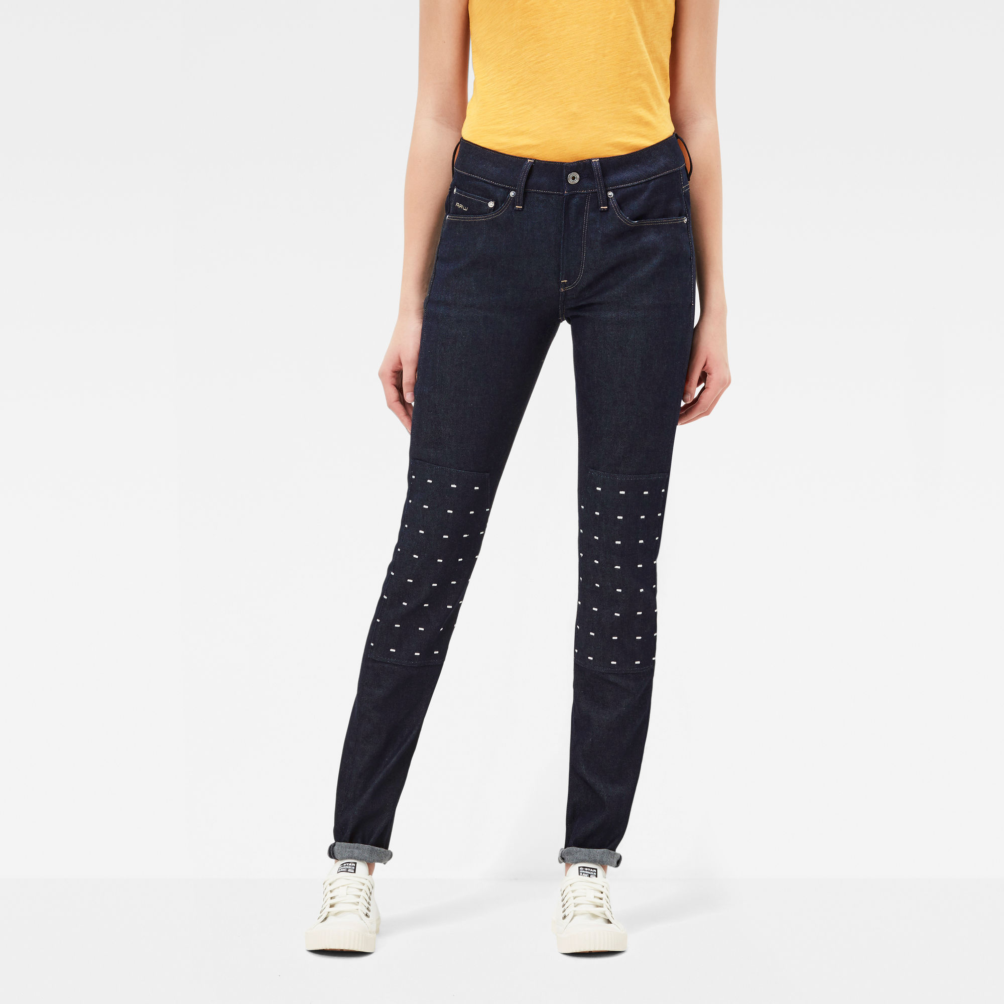 3301 MS High Waist Skinny Jeans