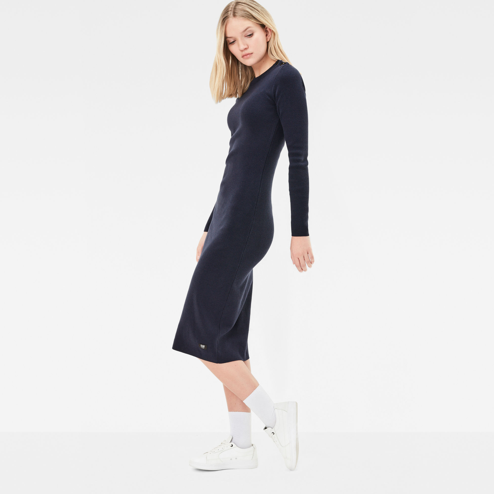 Exly Slim Knit Dress