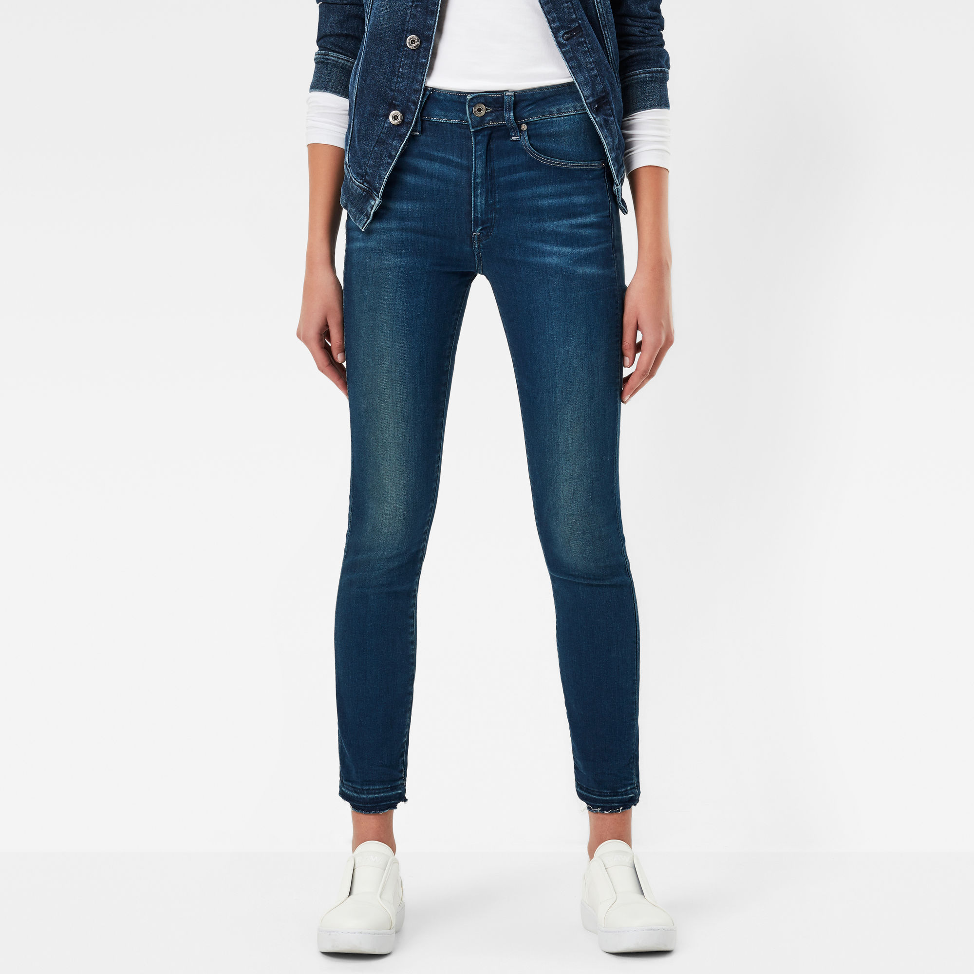 3301 High Skinny Waist RP Ankle Jeans