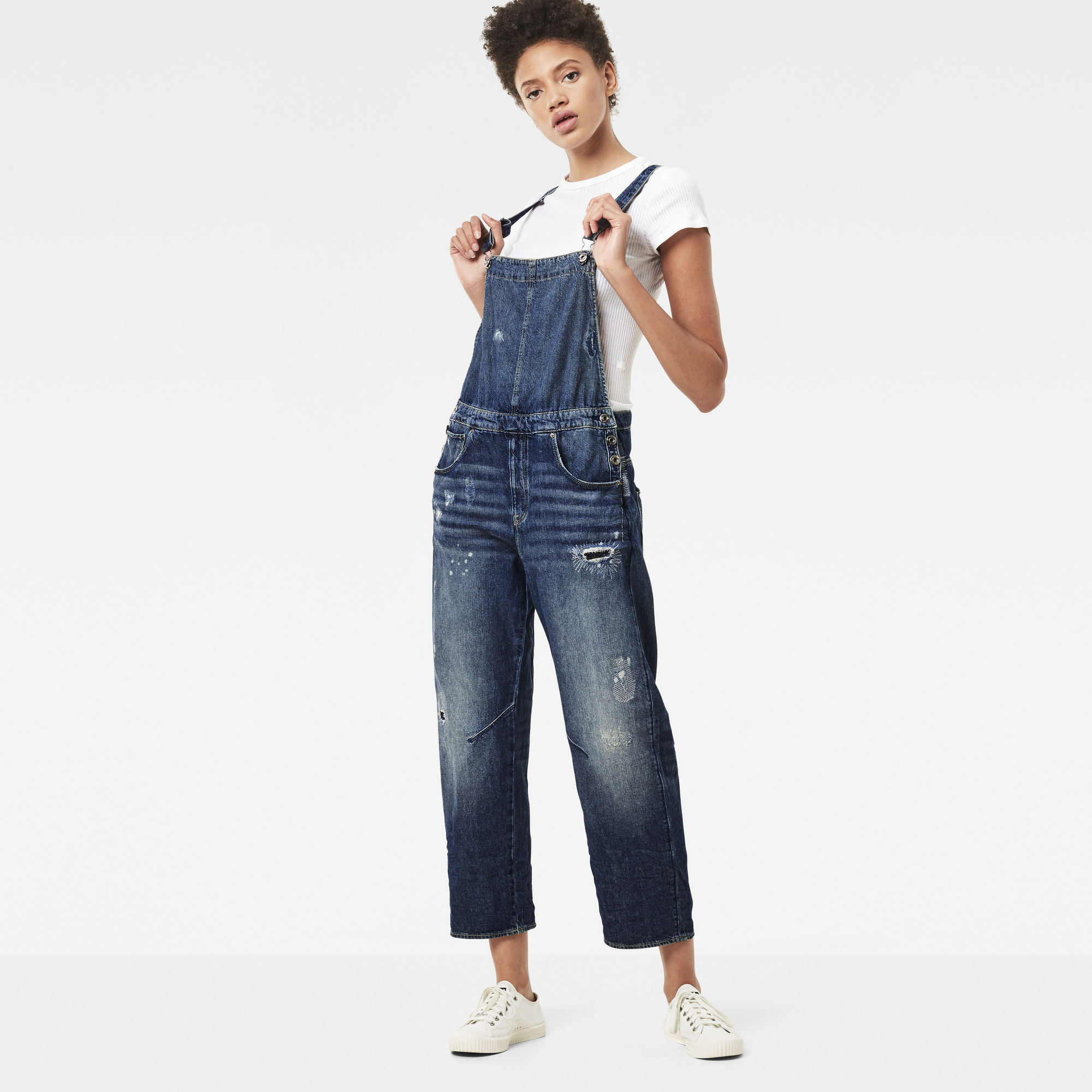 Arc Oversized Overalls