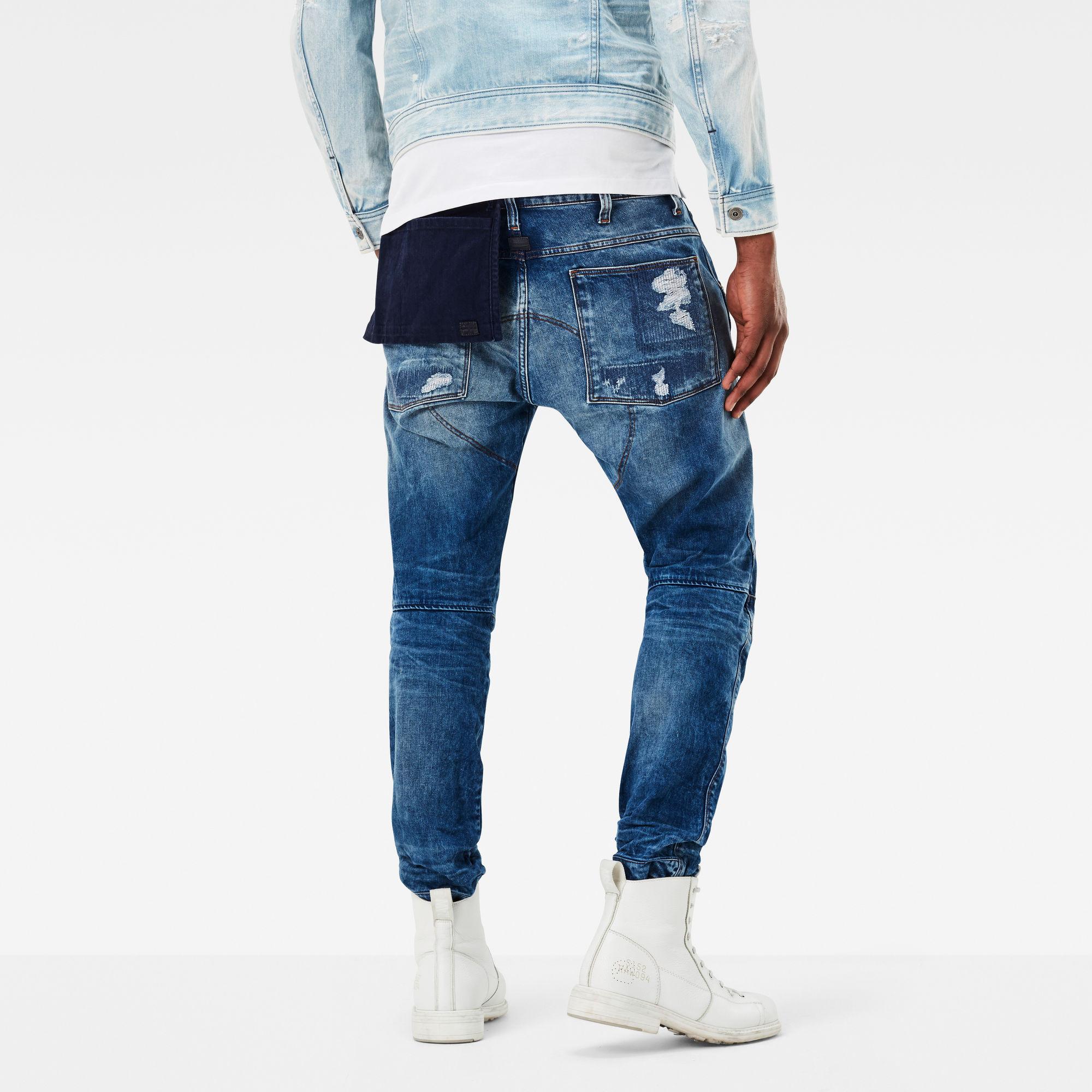 5620 G-Star Elwood 3D Tapered Pocket Jeans